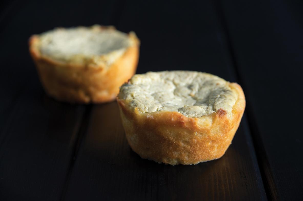 Cream cheese & pesto