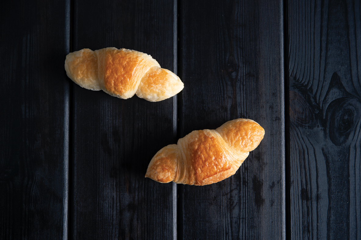 Mini croissant plain